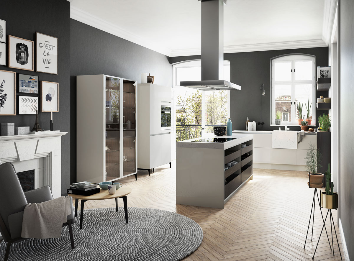 Siematic urban la cuisine citadine par excellence for Agencement cuisine rennes