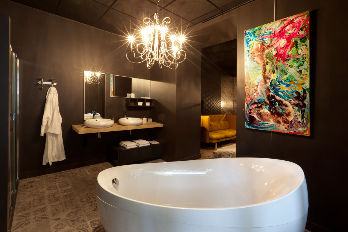 Salle de bain design : quelle baignoire choisir ? - Idkrea ...