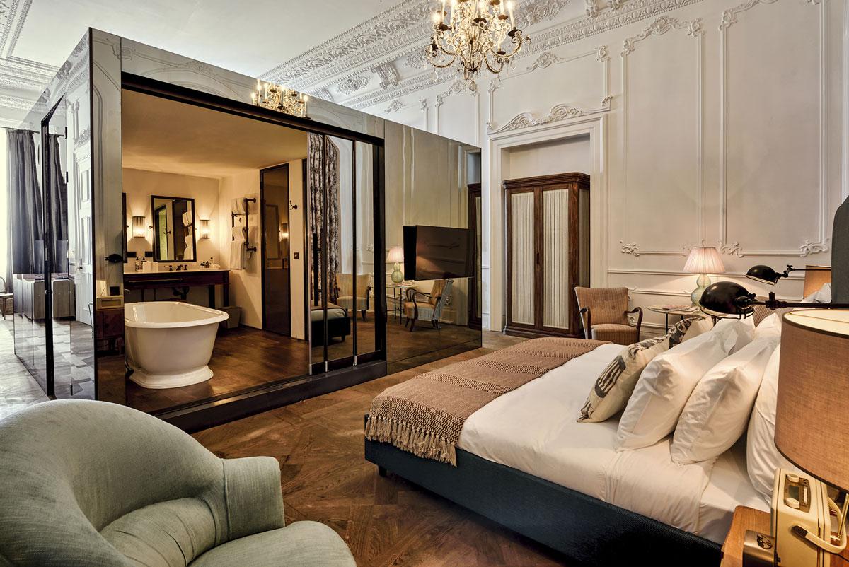 une salle de bain ouverte sur la chambre, pour ou contre ... - Salle De Bain Ouverte Dans Chambre
