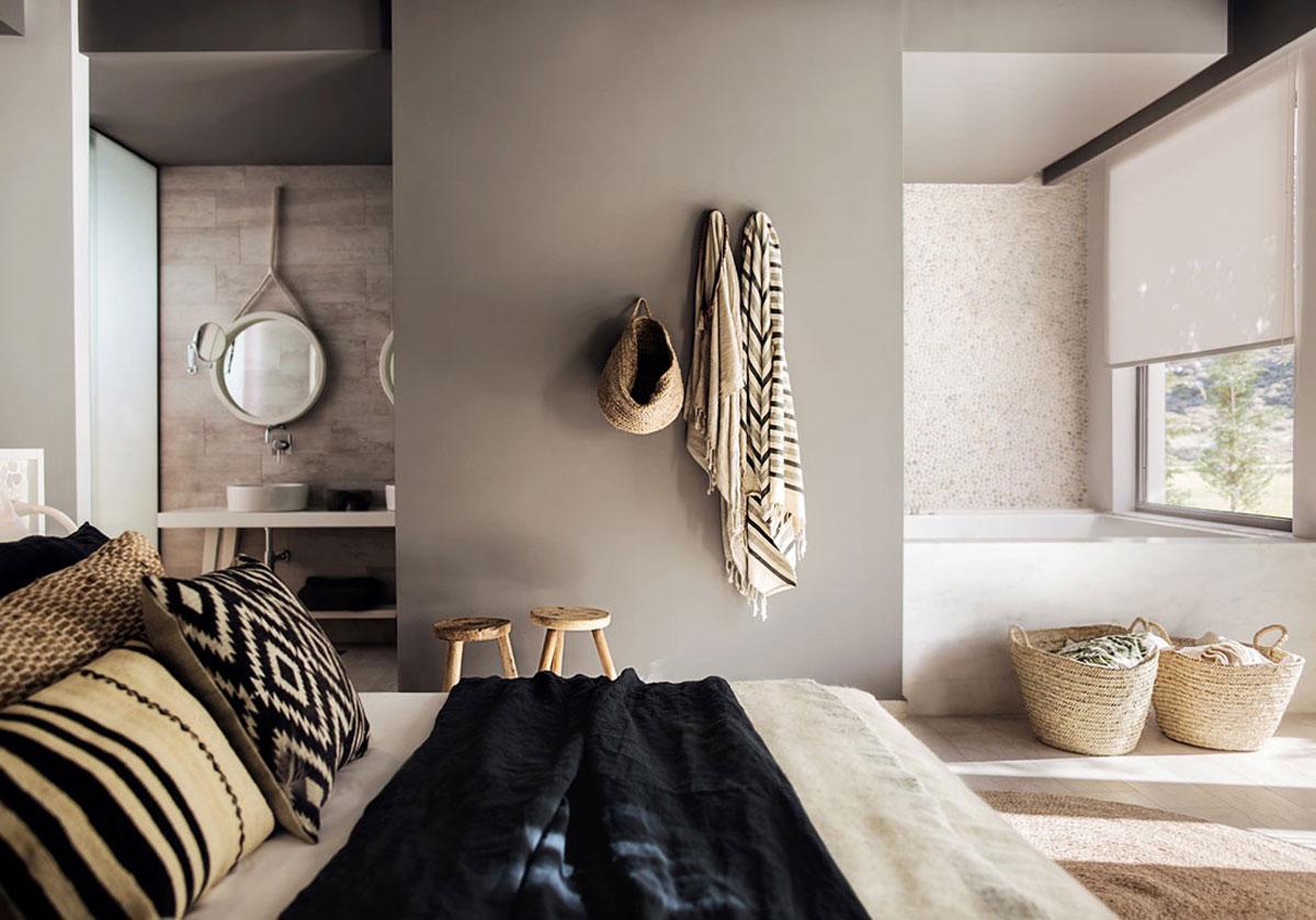 Une salle de bain ouverte sur la chambre pour ou contre for Salle de bain ouverte sur chambre