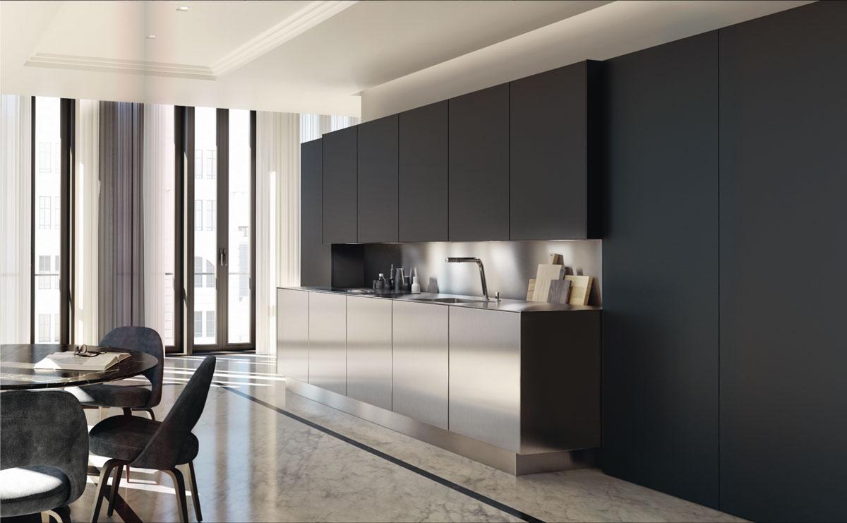 Mettre Un Miroir Dans Une Cuisine cuisine bicolore : quelles couleurs choisir pour réussir