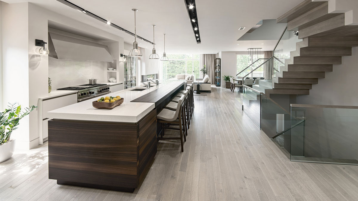 Comment am nager une cuisine ouverte sur un espace de vie - Comment amenager sa cuisine ouverte ...