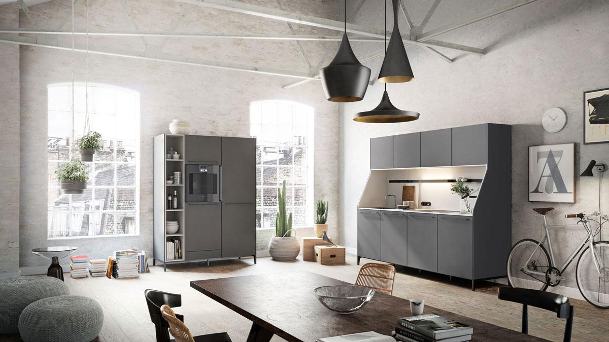 comment am nager une cuisine ouverte sur un espace de vie idkrea rennes. Black Bedroom Furniture Sets. Home Design Ideas