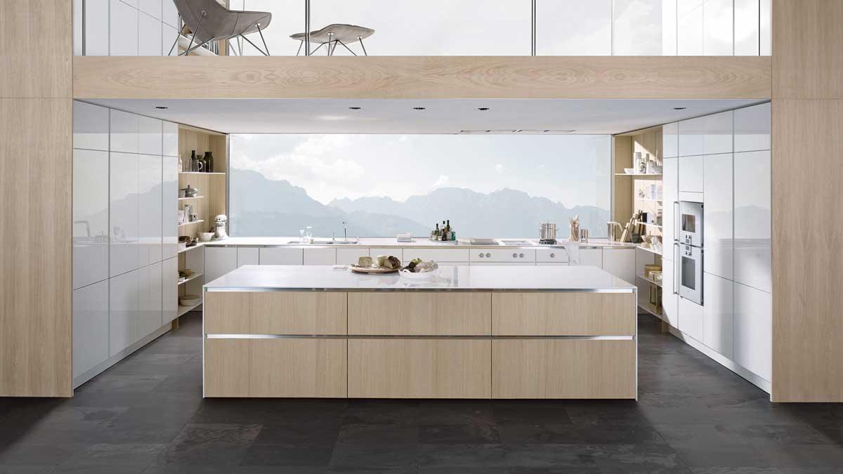 Cuisine blanche et bois de style scandinave la tendance - Cuisine en bois blanc ...