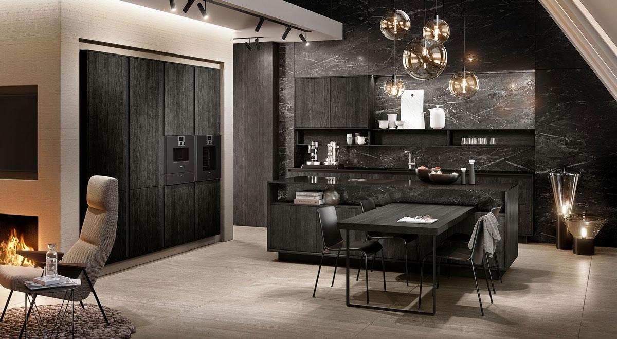 La nouvelle g om trie de la cuisine design par siematic for Nouvelle decoration cuisine
