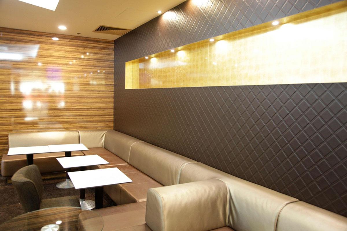 Papier Peint Effet Miroir osez le papier peint dans votre espace commercial ! - idkrea