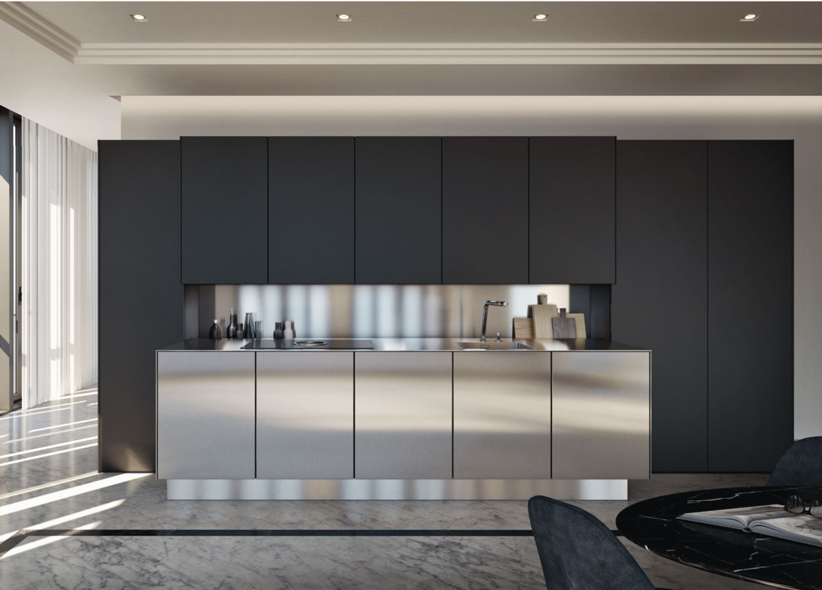 Design Inox. Diametro Inox Concrete By Ritmonio Designlab With ...