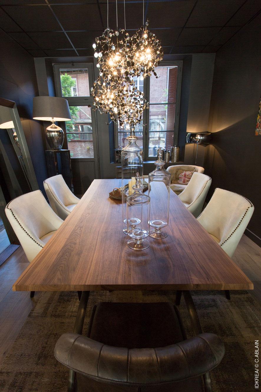 la d coration d une salle manger qui ose la diff rence idkrea rennes. Black Bedroom Furniture Sets. Home Design Ideas