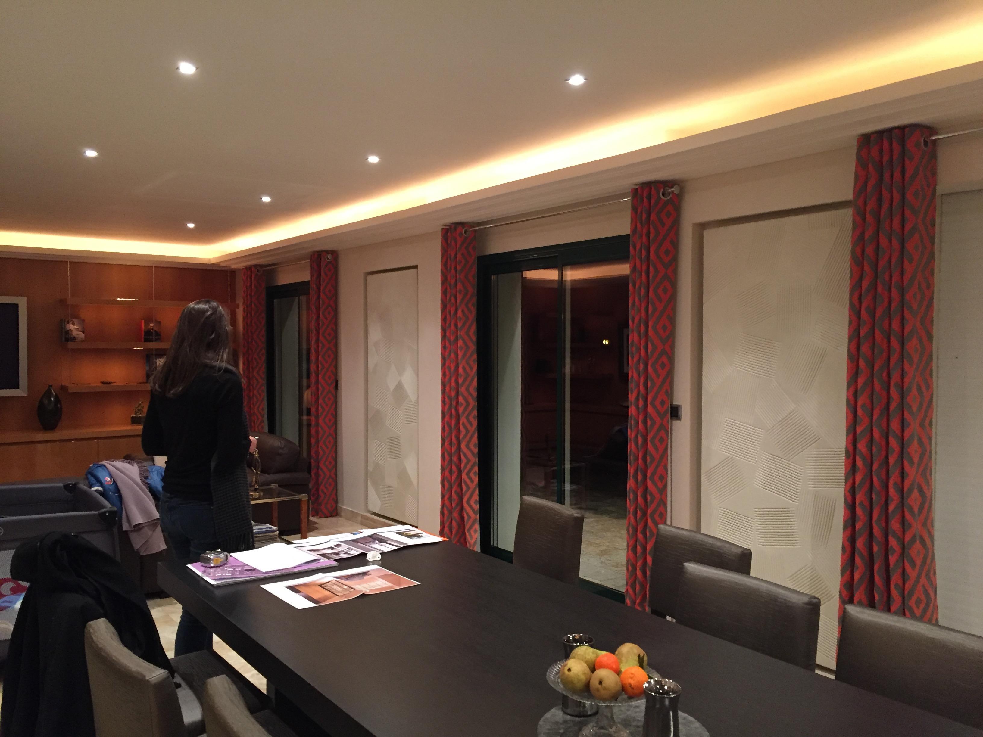 style flamand : rénovation et décoration de séjour et salle à ... - Renovation Sejour Salle A Manger