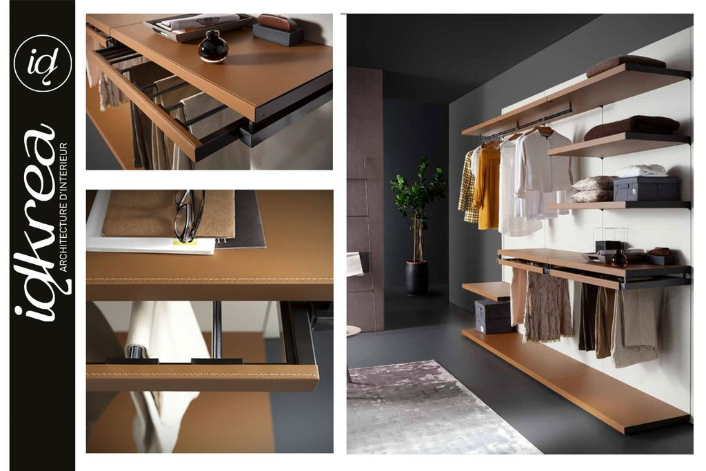 am nagement de dressing et rangements sur mesure idkrea rennes. Black Bedroom Furniture Sets. Home Design Ideas