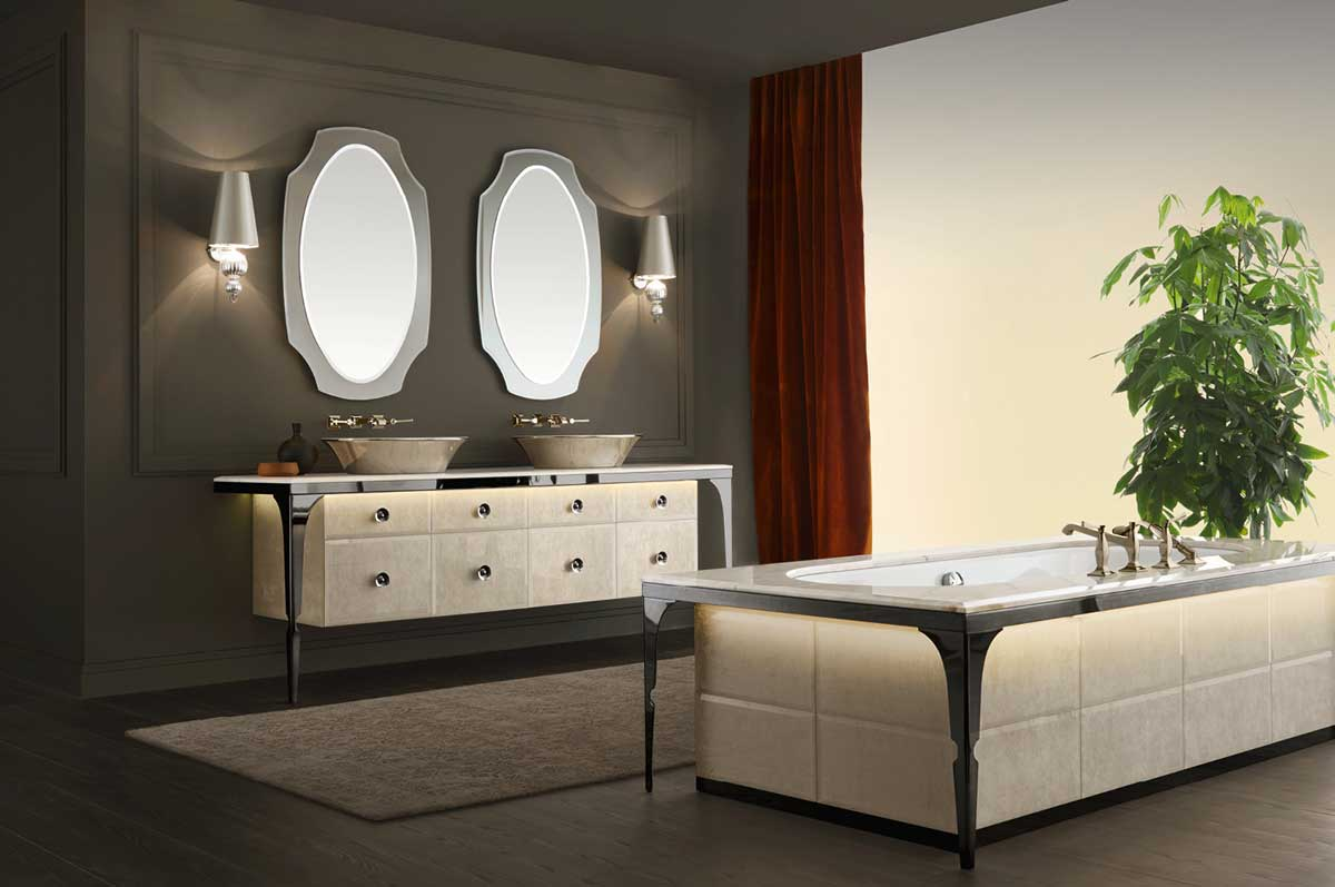 salle de bain design am nagement et r novation idkrea. Black Bedroom Furniture Sets. Home Design Ideas