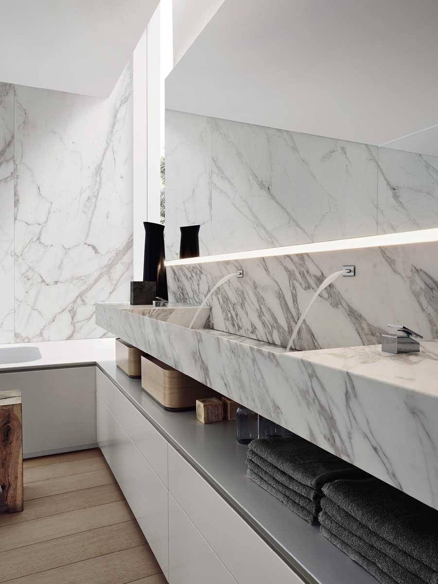 Salle de bain design - Aménagement et rénovation - Idkrea - Rennes