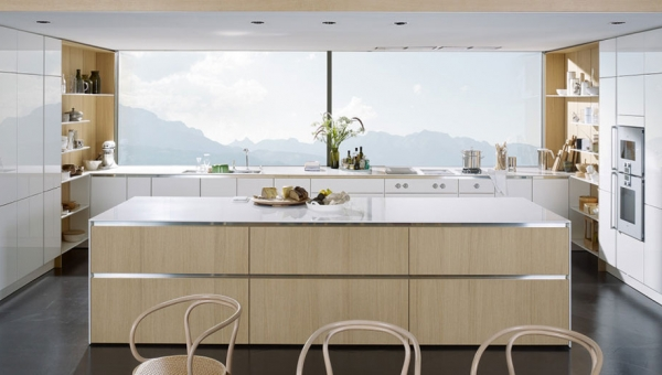 aménagement cuisine personnalisée et unique - SieMatic PURE - IDKREA, Rennes