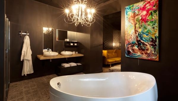 création salle de bain unique - IDKrea - Rennes