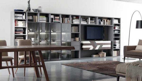 Aménagement meuble living sur mesure_unique et personnalisable_IDKrea_Rennes