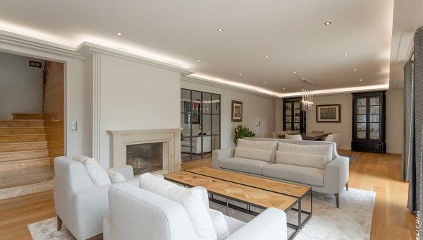 Architecture intérieure de salon - Style Flamand - IDKREA, Rennes - Ille et Vilaine
