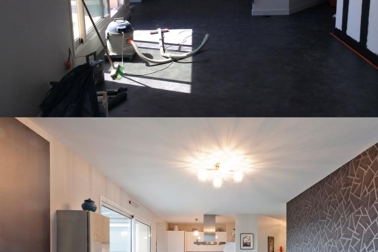 rénovation intérieur appartement Siematic IDKREA