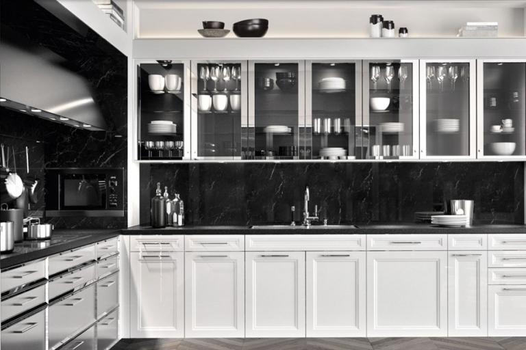 agencement cuisine aménagée - haut de gamme - BeauxArts - SieMatic - IDKREA - RENNES