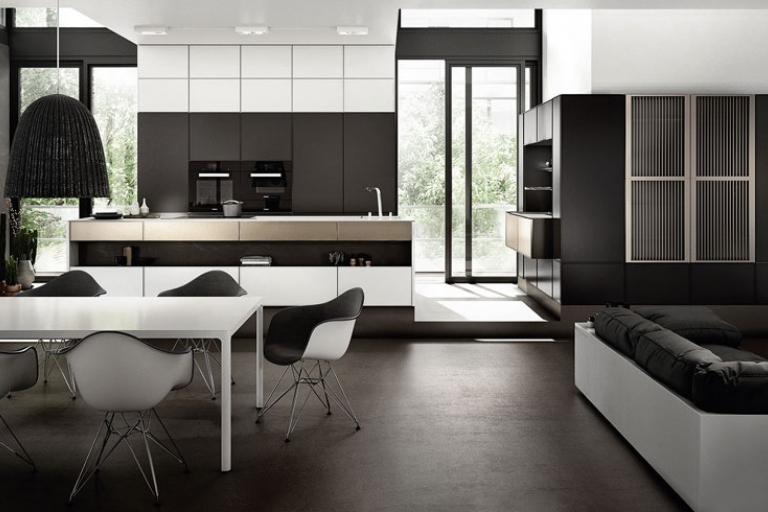 comment am nager une cuisine ouverte sur un espace de vie. Black Bedroom Furniture Sets. Home Design Ideas