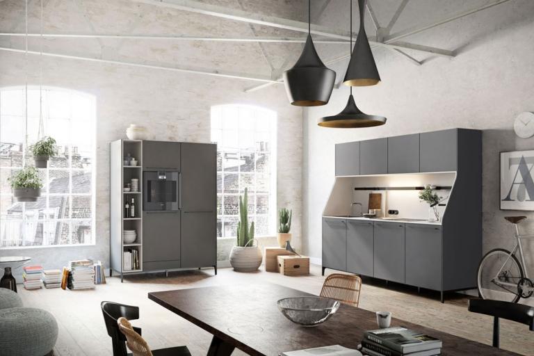 Cuisine Ouverte Style Loft Haut de Gamme SieMatic Urban – IDKrea, Rennes