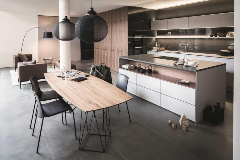 cuisine style scandinave blanche bois SieMatic Pure_IDKREA, Rennes