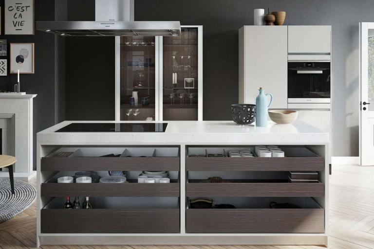 îlot design Urban SieMatic – IDKrea, cuisiniste de luxe à Rennes