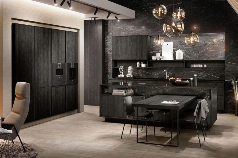 La nouvelle g om trie de la cuisine design par siematic for Nouvelle cuisine design