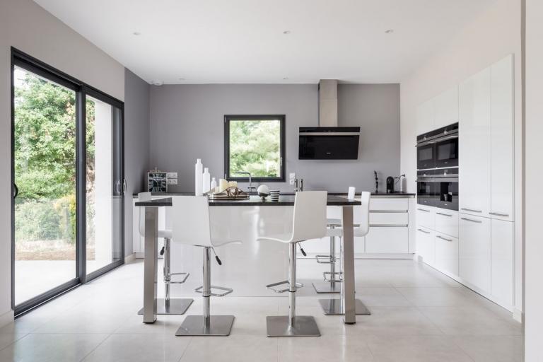cuisine Moderne unique et personnalisée_IDKREA, Rennes