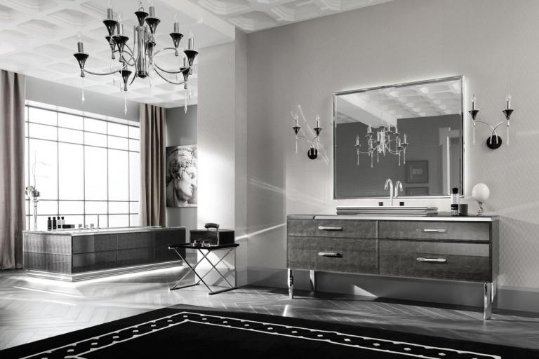 Création et rénovation de salle de bain design haut de gamme - Architect d'intérieur Rennes - IDKREA