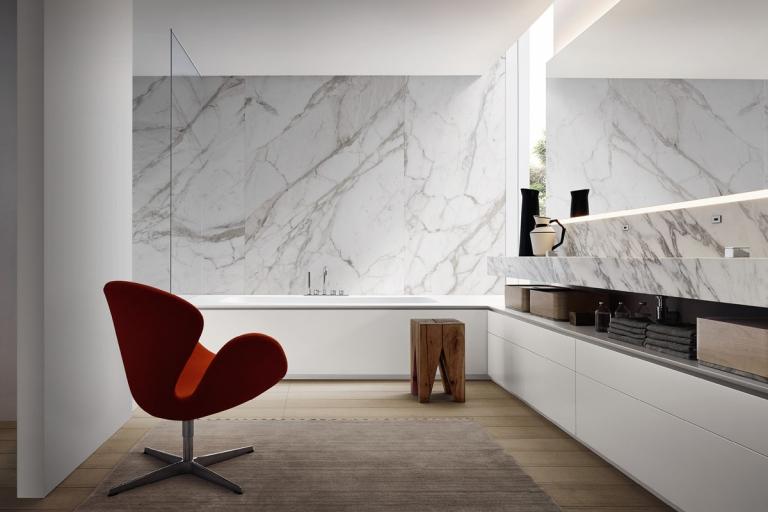 Meubles de salle de bain design haut de gamme - Architect d'intérieur Rennes - IDKREA