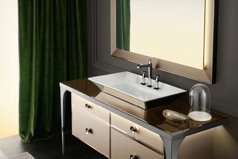 Salle de bain luxe_haut de gamme_IDKrea, rennes