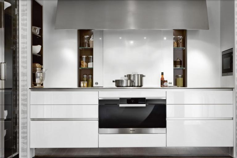 agencement cuisine aménagée - haut de gamme - SieMatic - IDKREA - RENNES