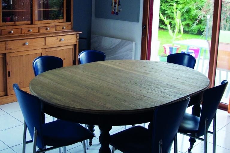 table salle à manger 4 à 12 personnes