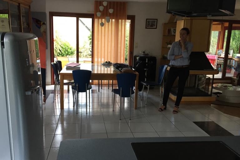 salle à manger avant rénovation Chavagne