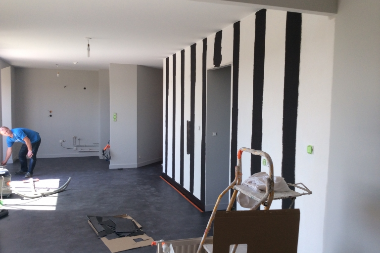 chantier appartement