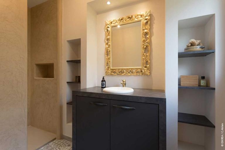 Salle de bain sur mesure_Tadelakt_IDKREA, Rennes