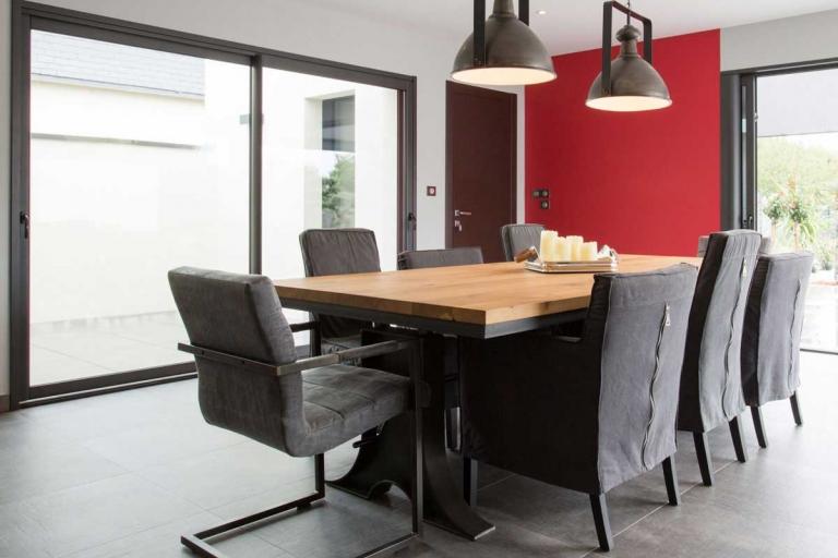 Table salle à manger - décoration d'intérieur unique et personnalisée – IDKrea, Rennes