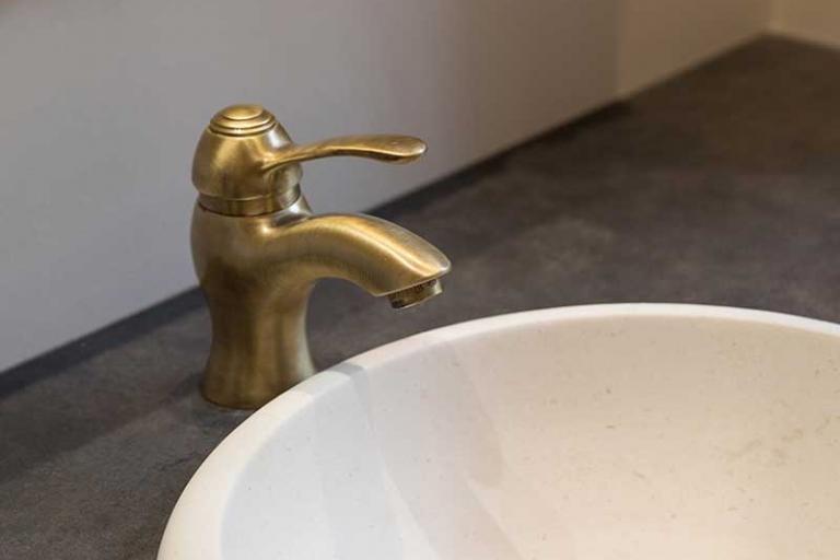 Vasque pierre_Salle de bain Luxe_IDKREA, Rennes