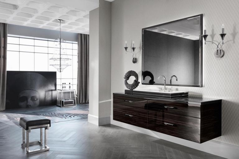 L am nagement salle de bain haut de gamme 5 ambiances for Robinetterie haut de gamme pour salle de bain